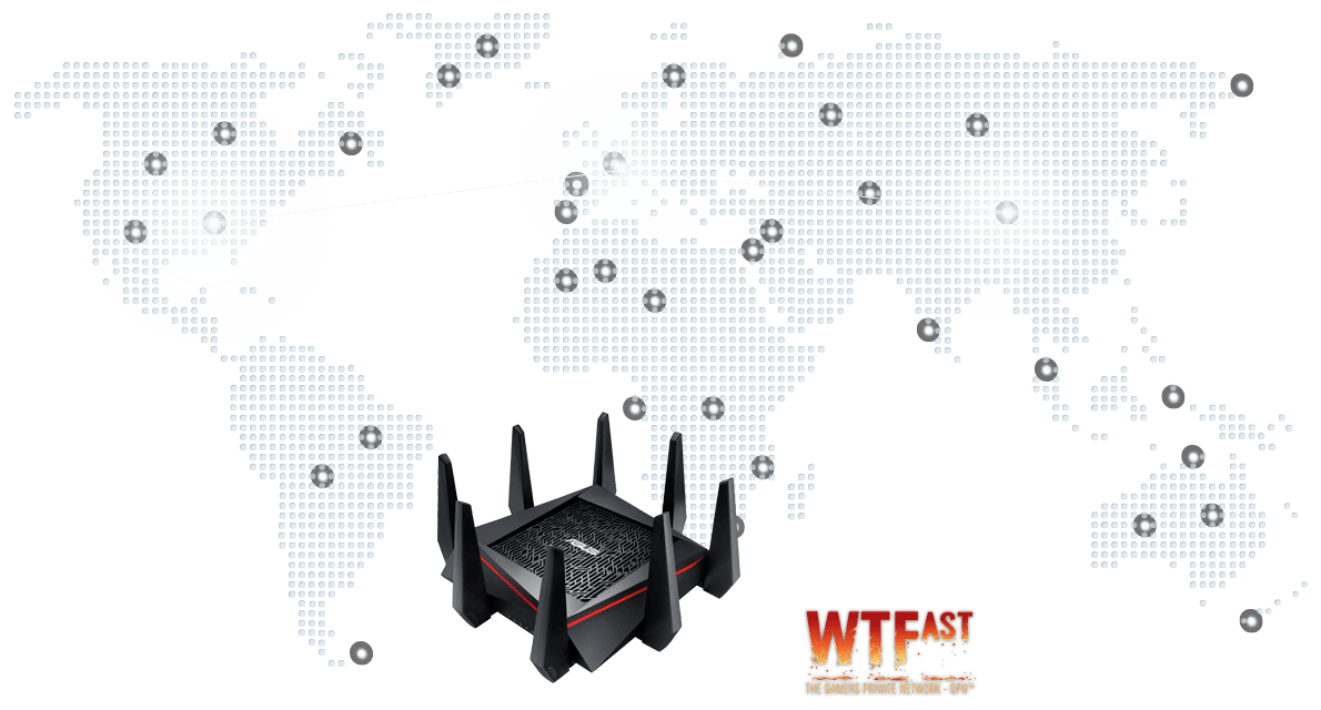 Free WTFast® game accelerator inside - optimize Internet connection and speed in online games
