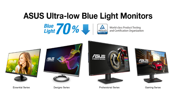 Good ASUS Ultra Low Blue Light Monitors Receive Most Number Of TÜV  RheinlandCertifications For Low Blue Light Emissions Idea