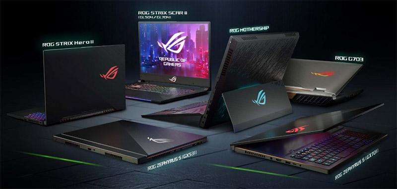 f0c7cc1338 ASUS na CES 2019  herní notebooky ROG vybavené grafikami GeForce RTX