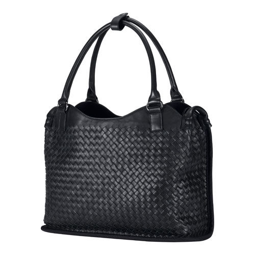 Asus leather woven carry bag.  Сумка ASUS из плетеной кожи.