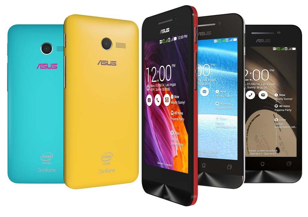 Smartphone Keluaran terbaru Asus Zenfone
