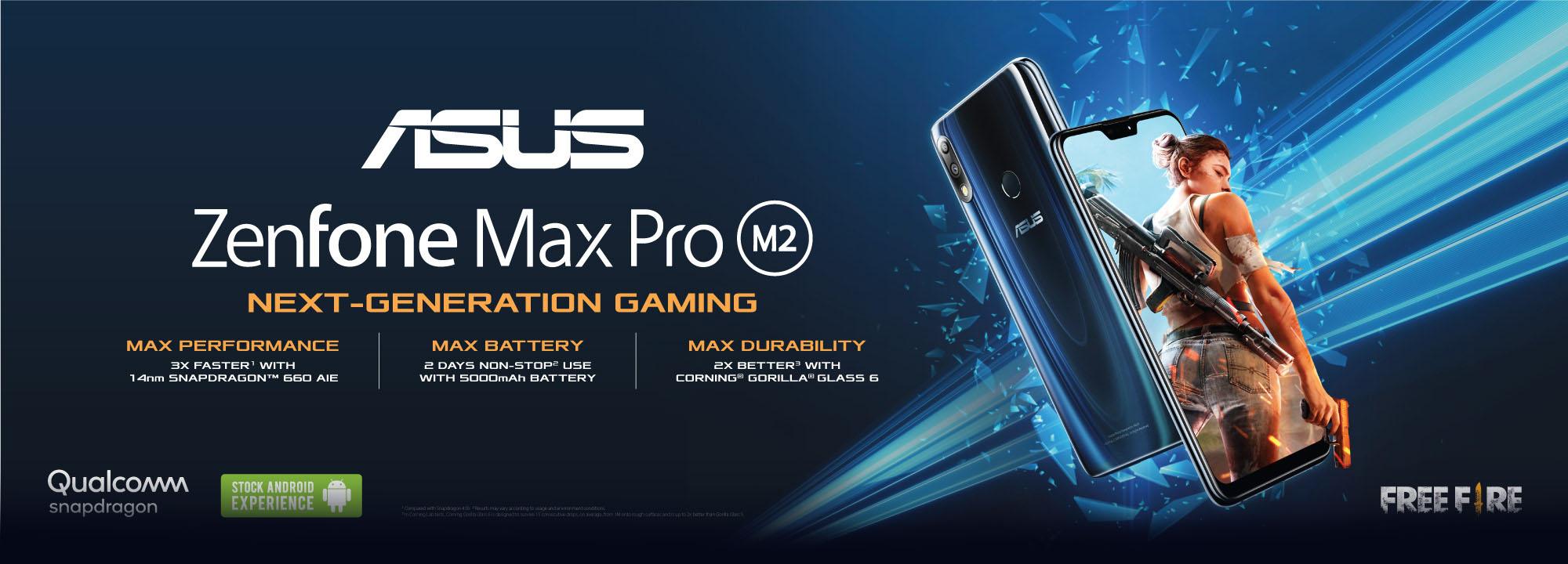 ZenFone Max Pro (M2) | Phone | ASUS Malaysia
