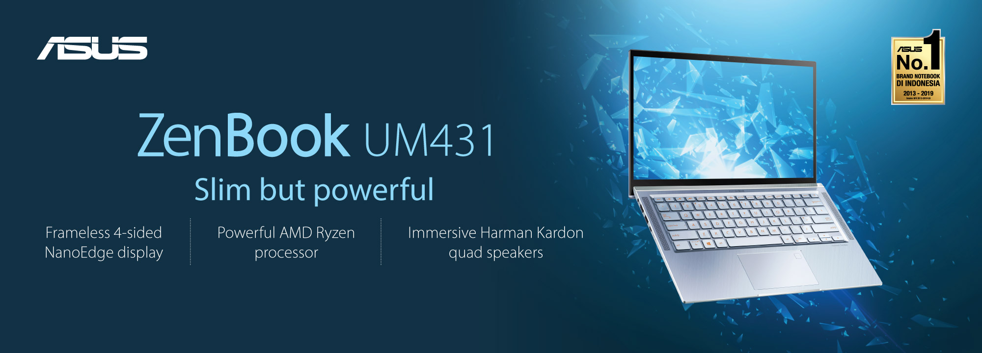 ASUS ZenBook 14 UM431DA Laptop