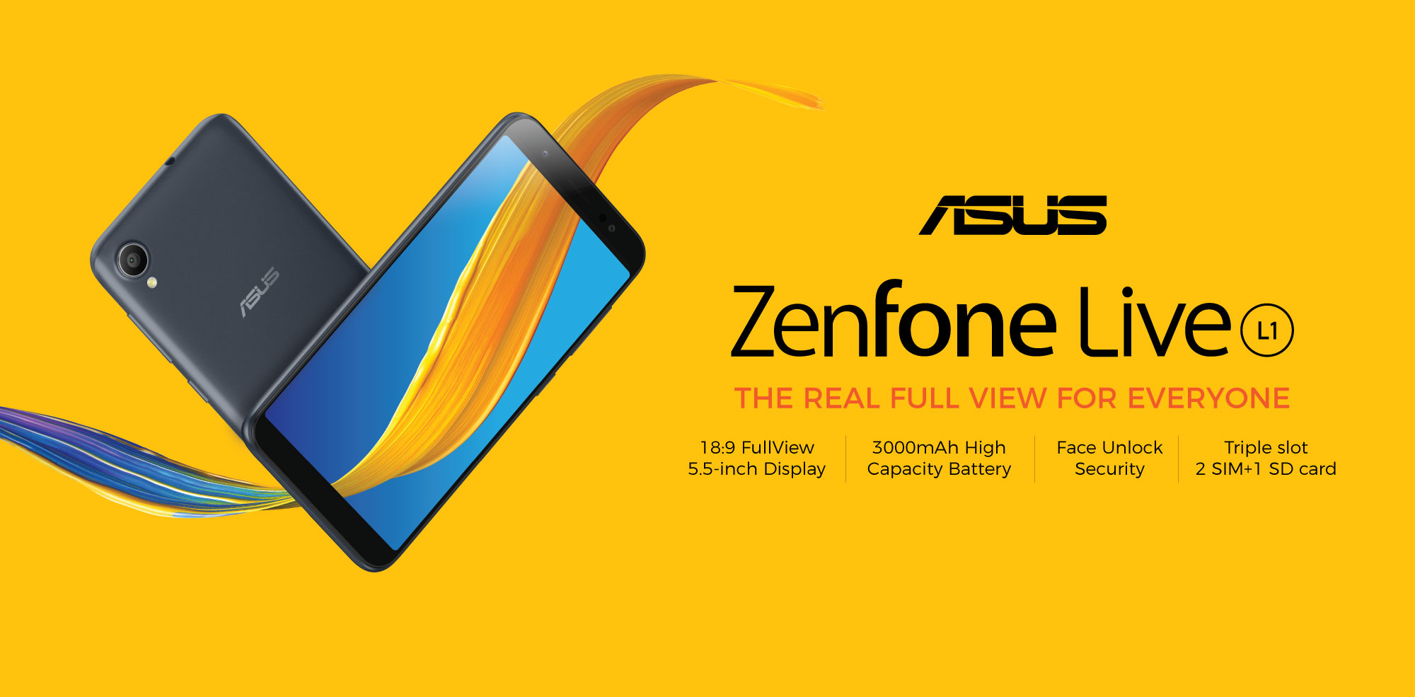 Firmware Asus Zenfone Live L1 Upgrade Android 9
