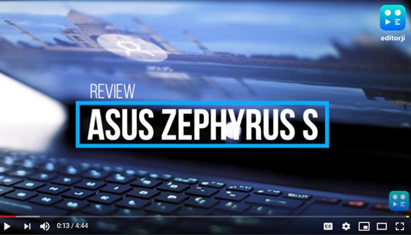 ROG Zephyrus S (GX531) | Laptops |ASUS