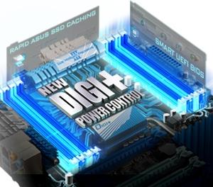 メモリコントローラー+メモリもデジタル化した「New DIGI+ Power Control」