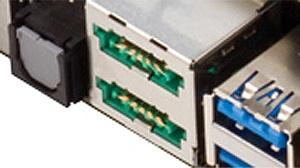 eSATAポートは6Gb/sかつPower eSATAに対応