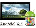 Android™ 4.1 Jelly Bean