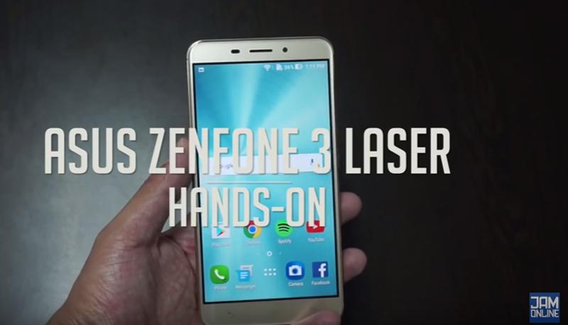 ASUS Zenfone 3 Laser Hands On ENG TAG