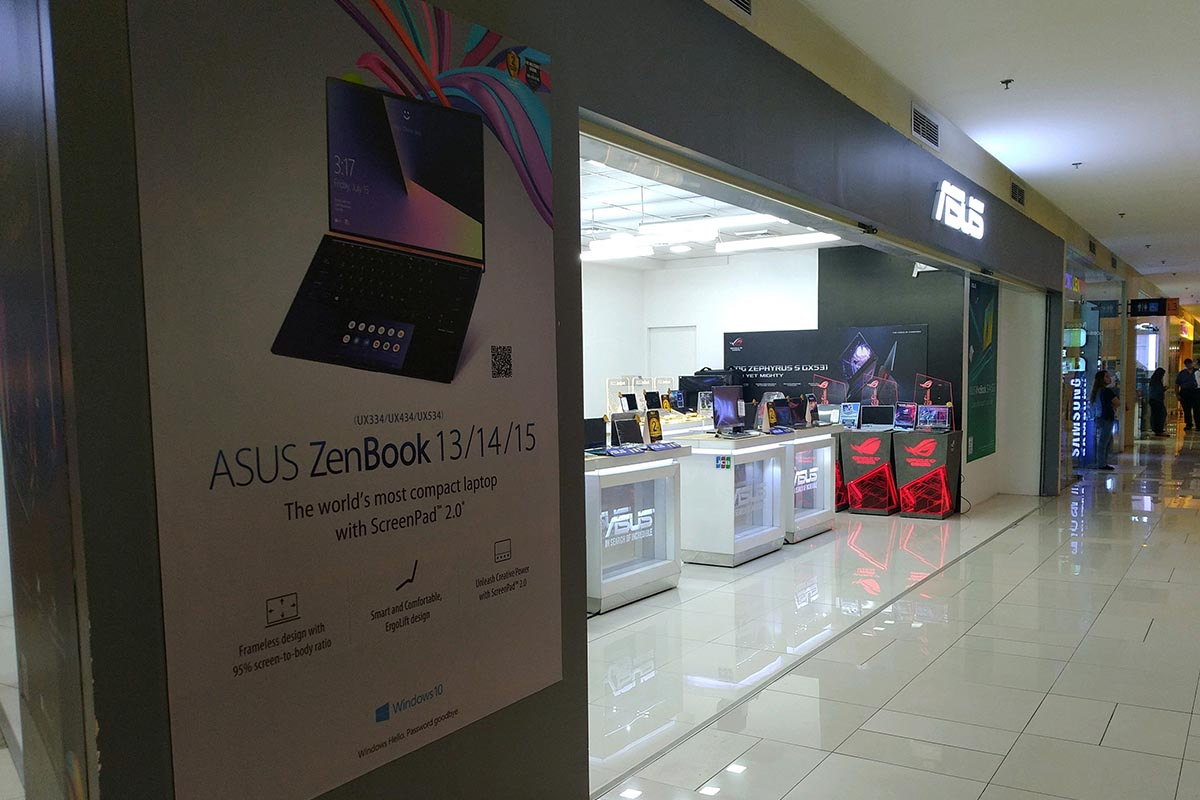 ASUS Concept Store - Ayala Center Cebu