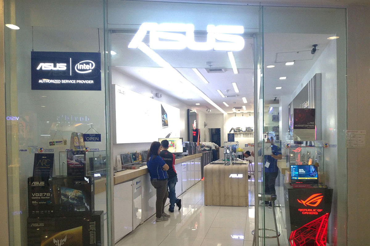 ASUS Concept Store - Robinsons Manila