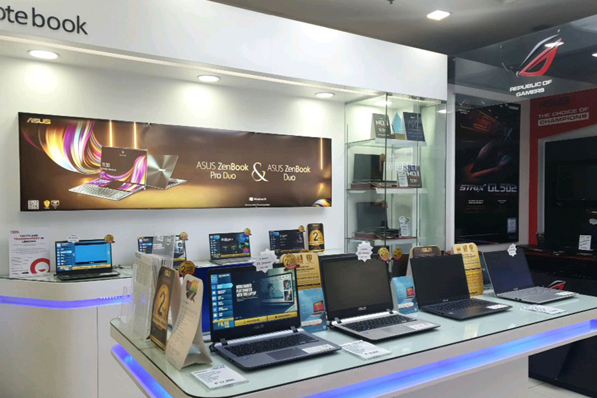 ASUS Concept Store - SM City Bacolod