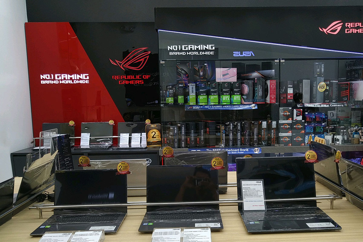 ASUS Concept Store - SM City Bacoor