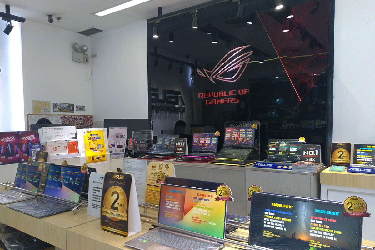 ASUS Concept Store - SM City North Edsa