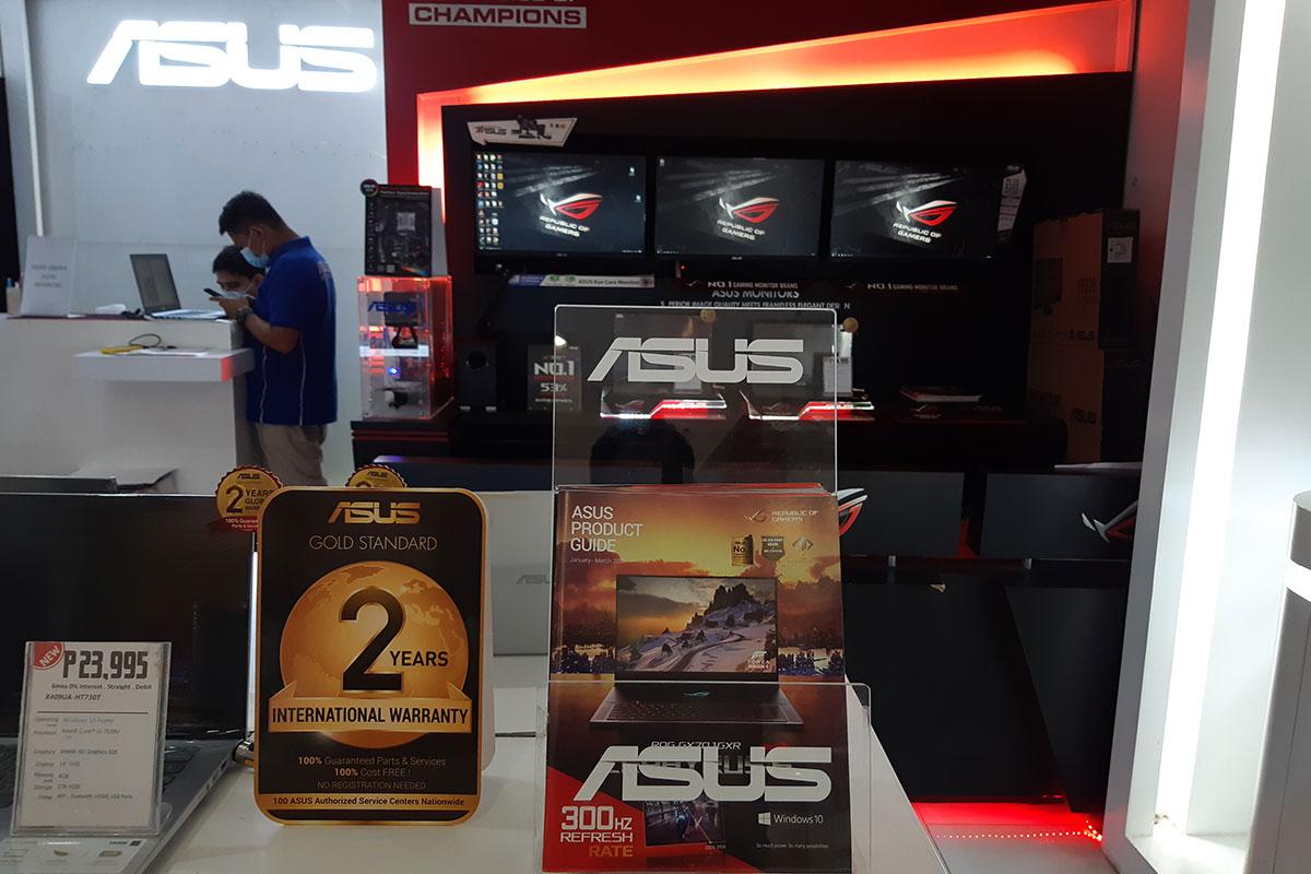 ASUS Concept Store - SM Lanang Premier
