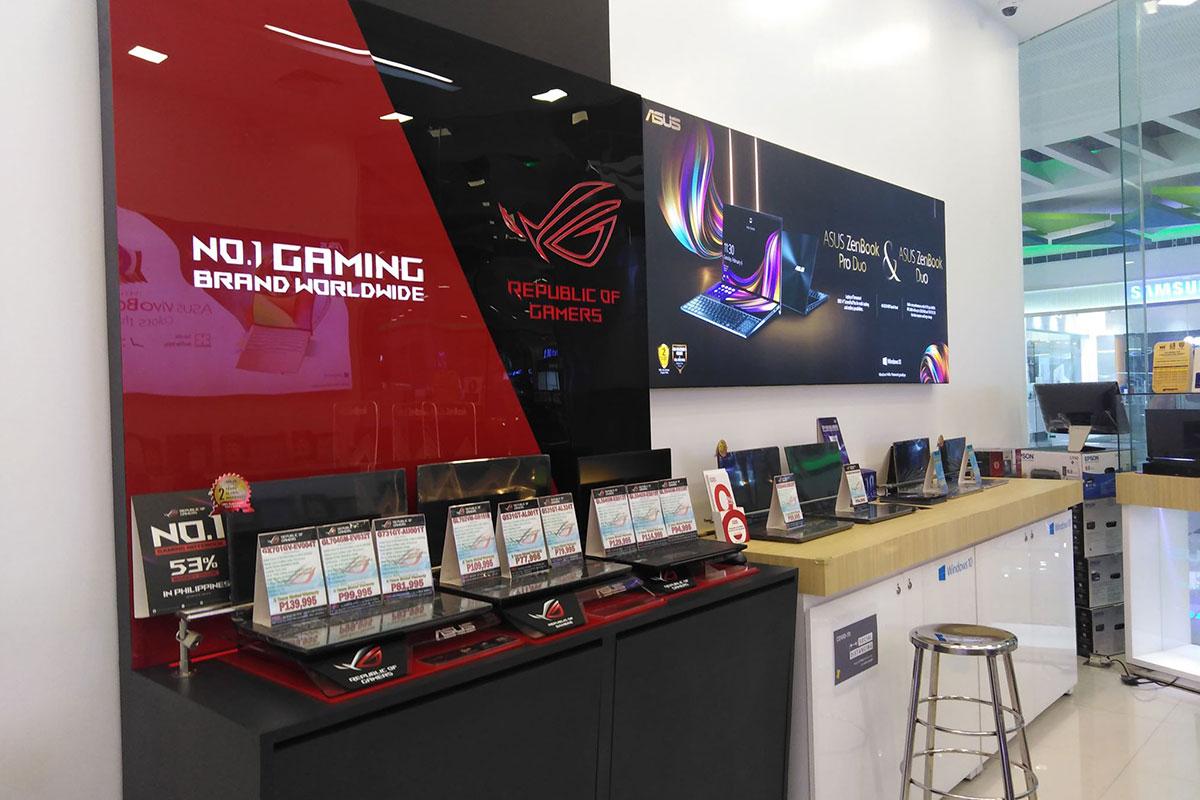 ASUS Concept Store - SM City Legazpi