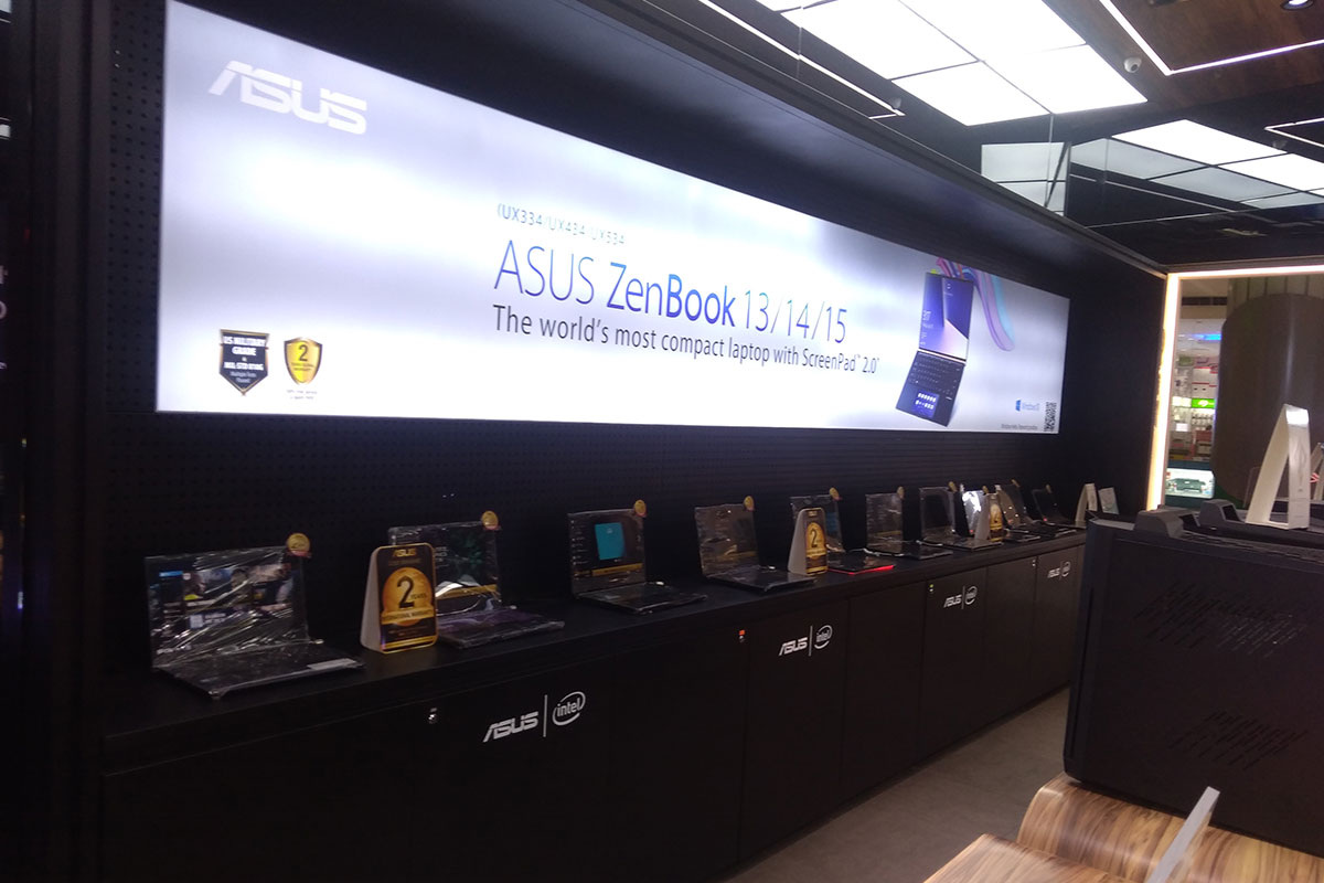 ASUS Concept Store - SM Mall of Asia