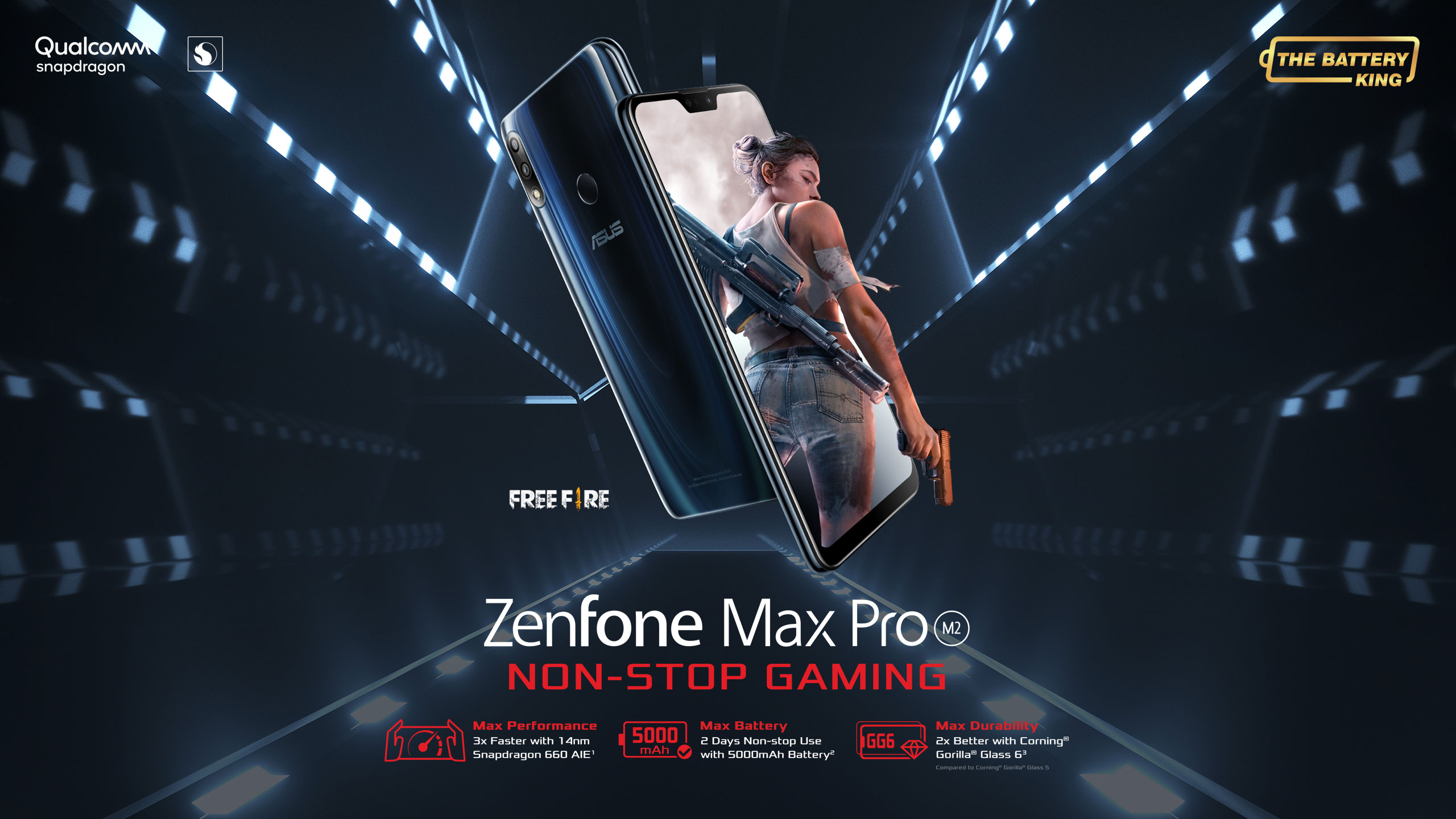 ZenFone Max Pro (M2) | Phone | ASUS Philippines