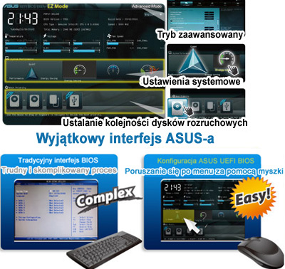 ASUS exclusive interface