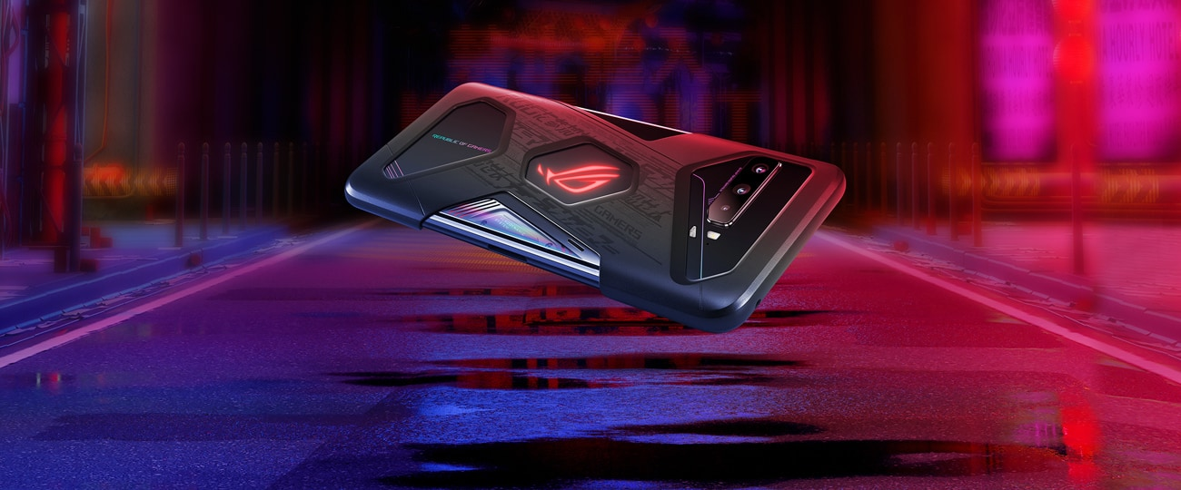 Asus ROG Phone 3 搭配 Aero 专属保护壳