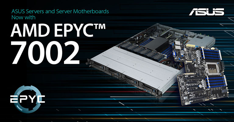 ASUS Announces AMD EPYC™ 7002 Series Processor Servers and