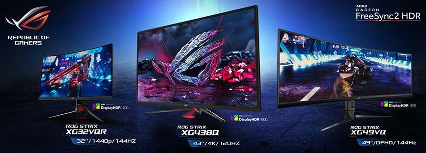 ASUS ROG announces new Strix XG HDR Gaming Monitor Lineup