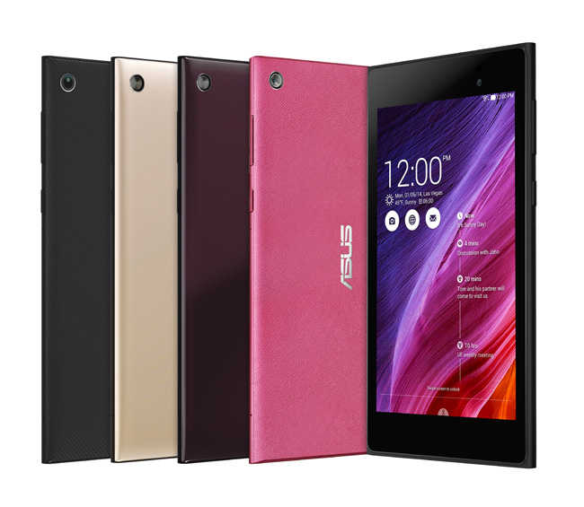 ASUS Announces MeMO Pad 7 with New Hot Pink Color Option