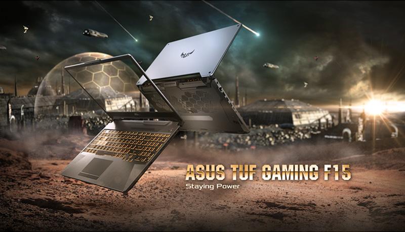 Asus TUF FX506LI Gaming Laptop stying Power