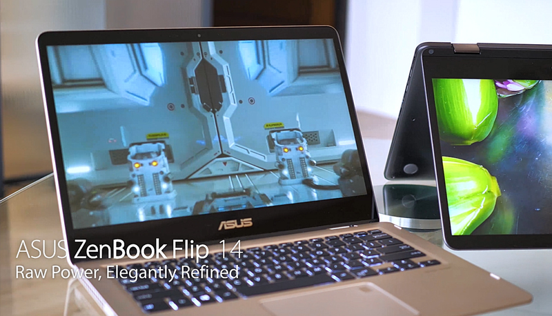 ASUS ZenBook Flip 14 UX461UN | 2-in-1 PCs | ASUS Hong Kong