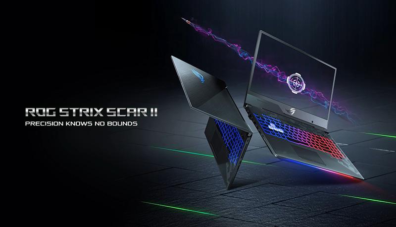 Rog Strix Scar Ii Laptops Asus Global