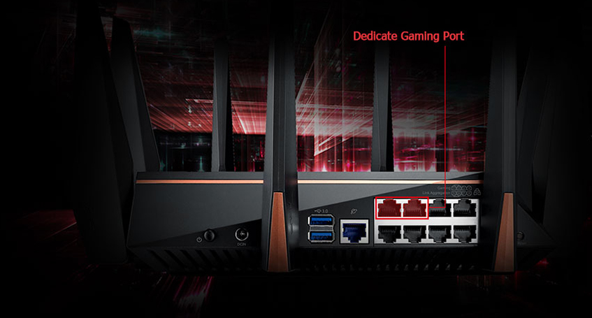 Gaming Networking–Gaming Router | ASUS Global