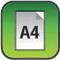 A4-es méret