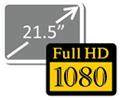 23-дюймовий IPS-дисплей Full HD зі світлодіодним підсвічуванням