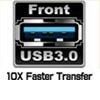 Front USB 3.0 Ports