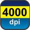 4000 dpi
