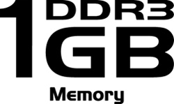 Gigantic 1GB DDR3 Memory