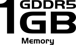 1 GB de memoria GDDR5