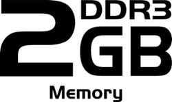 2 GB de memoria GDDR5
