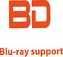 Blu-ray support