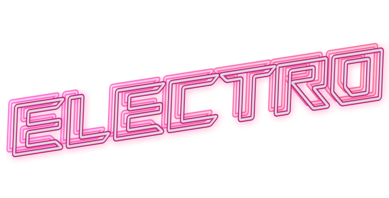 Neon sign : Electro