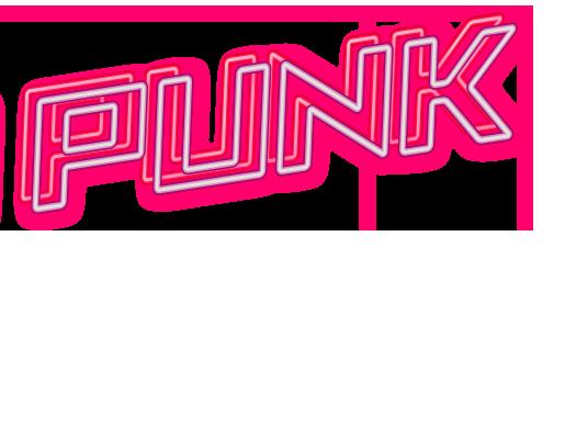 Neon sign : Punk