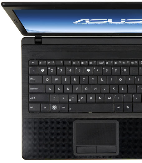 ASUS x seires with Palm Proof technology