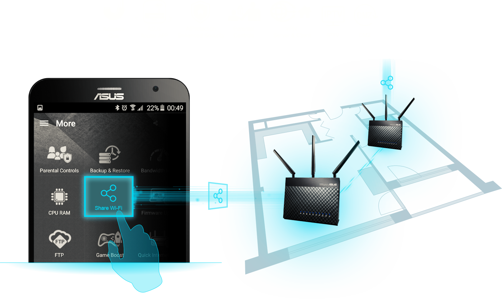 AiMesh AC1900 WiFi System (RT-AC68U 2 Pack) | Networking | ASUS USA