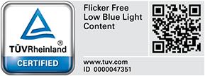 Certificado por ASUS-Designo-BE24DQLB-tuv-rheinland