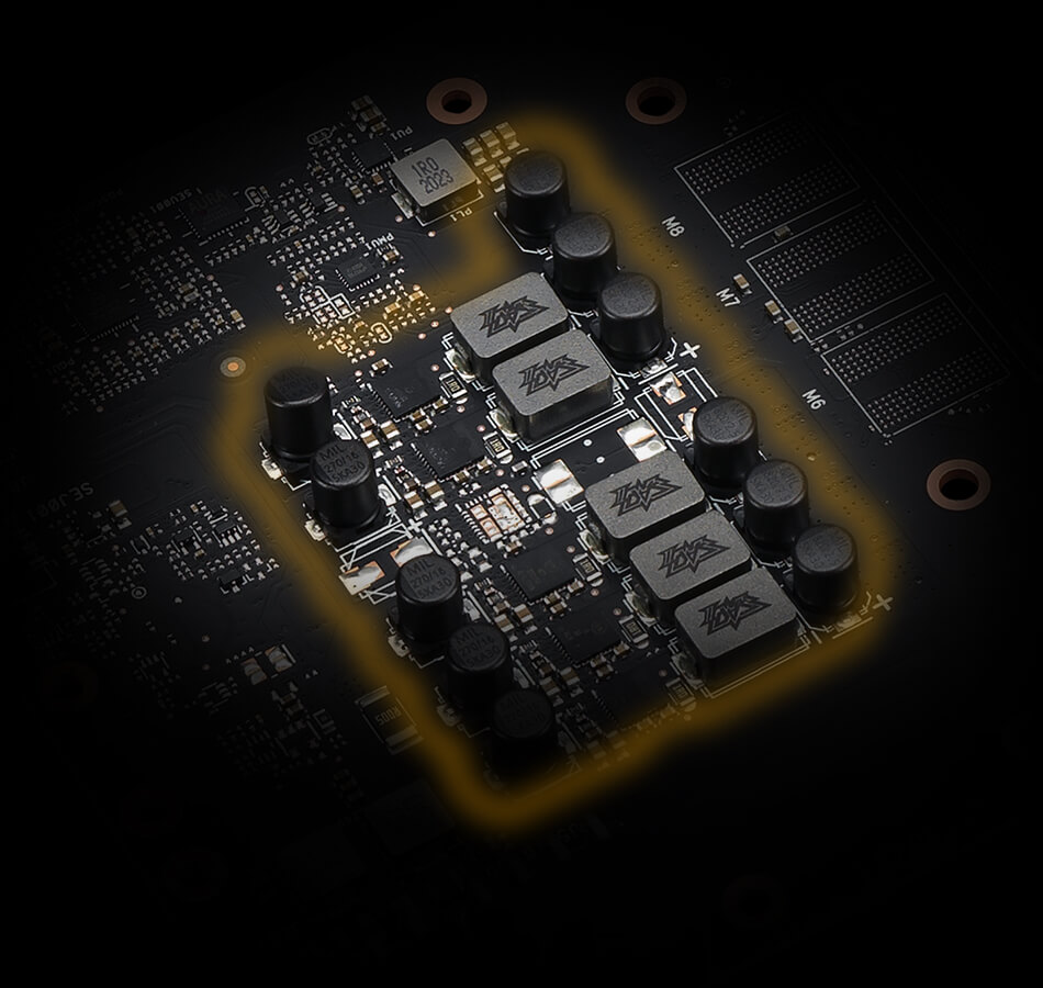 Premium components focused