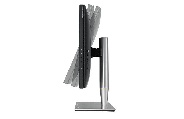 With ProArt PA24AC, a comfortable viewing position is always within reach thanks to its slim profile and ergonomically-designed stand with tilt, swivel, pivot, and height adjustments.
