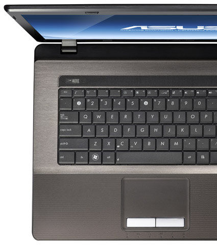 ASUS K seires with IceCool Technology and Palm Proof technology