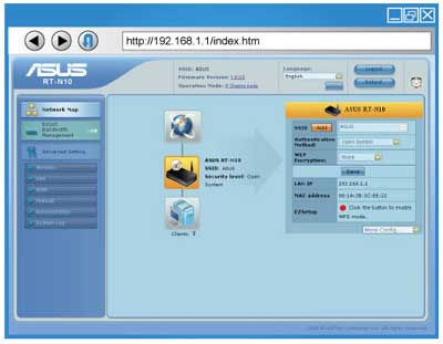 ASUS RT-N10 Router Driver