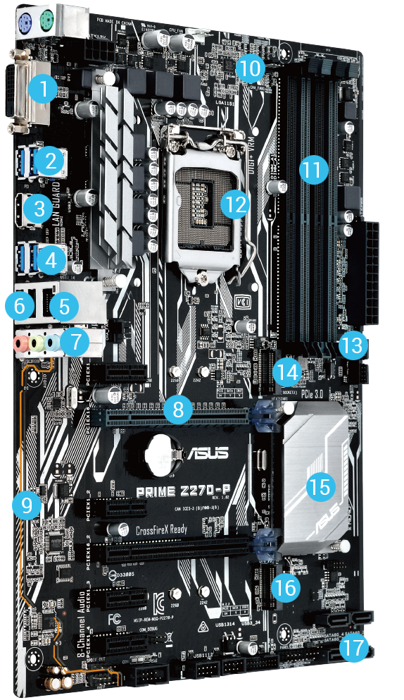 PRIME Z270-P | Motherboards | ASUS USA