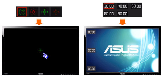 ASUS lcd monitor VG248QE Game_2